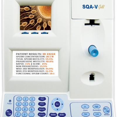 Máy Phân tích Tinh trùng SQA - V GOLD